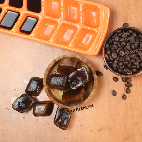 HOMEMADE COFFEE ICE CUBES FOR CELLULITE REDUCTION