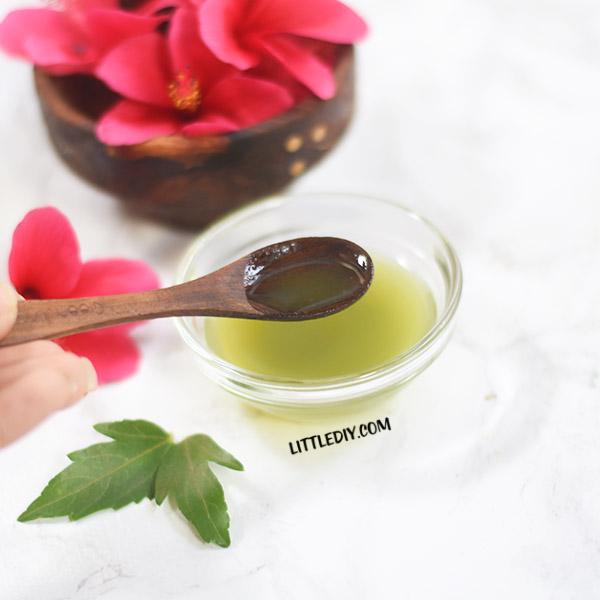 Hibiscus Leaf Acne Treatment