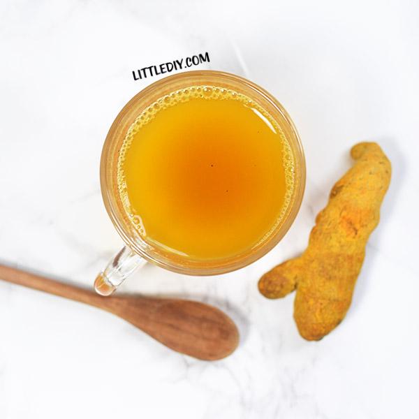 GREEN TURMERIC LEMON TEA- BURN FAT QUICKLY
