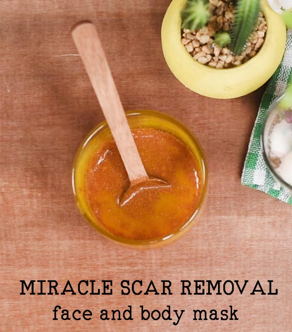 MIRACLE SCAR REMOVAL FACE AND BODY MASK