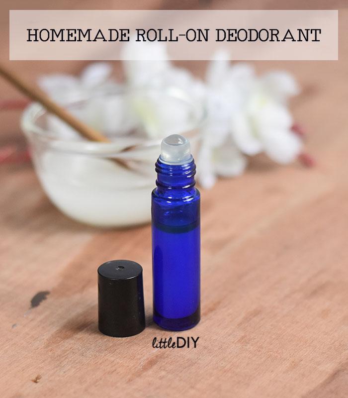 HOMEMADE ROLL-ON DEODORANT