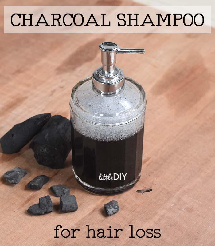 Charcoal Shampoo for Hair Loss