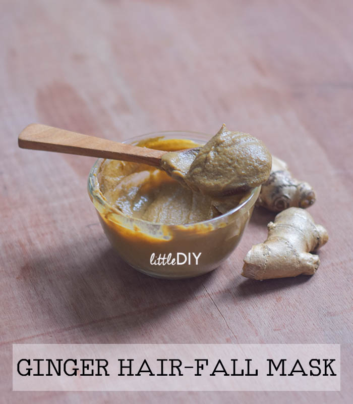 GINGER HAIR MASK FOR HAIR FALL AND THINNING HAIR