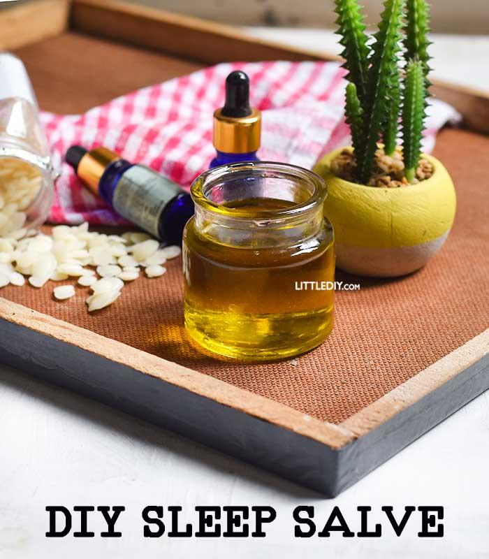 DIY SLEEP SALVE