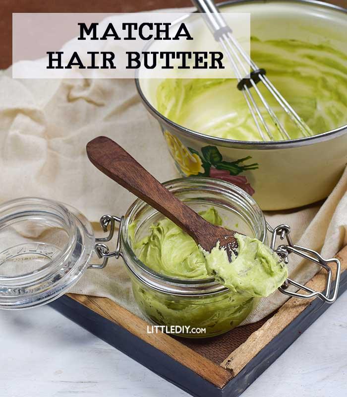 MATCHA TEA HAIR BUTTER TO SPEED UP HAIR GROWTH