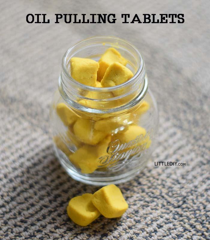 OIL PULLING TABLETS