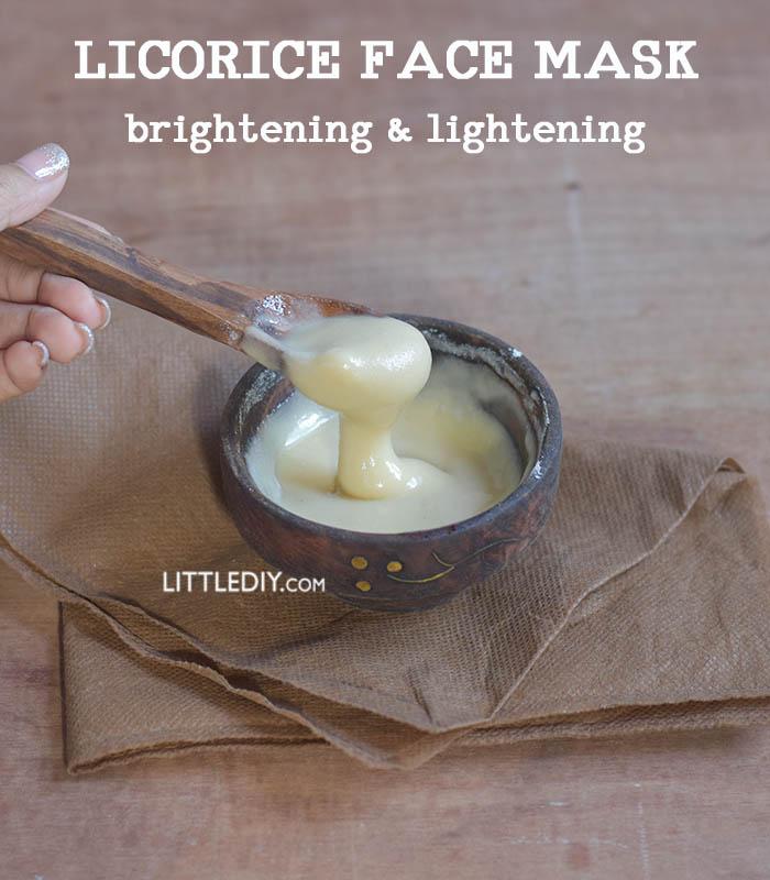 Licorice Skin Brightening Mask