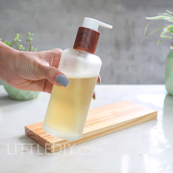 DIY Green Tea Hair Growth Shampoo