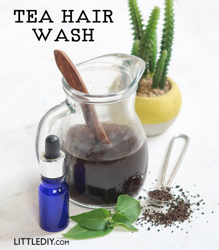 TEA HAIR WASH