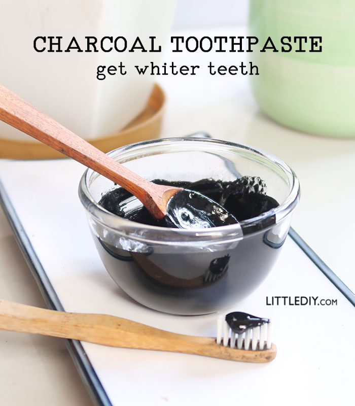 ACTIVATED CHARCOAL TOOTHPASTE FOR WHITE TEETH