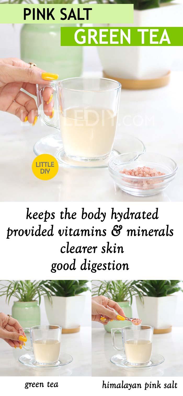HIMALAYAN PINK SALT GREEN TEA RECIPE