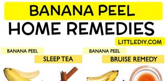 BEST DIY REMEDIES USING BANANA PEEL
