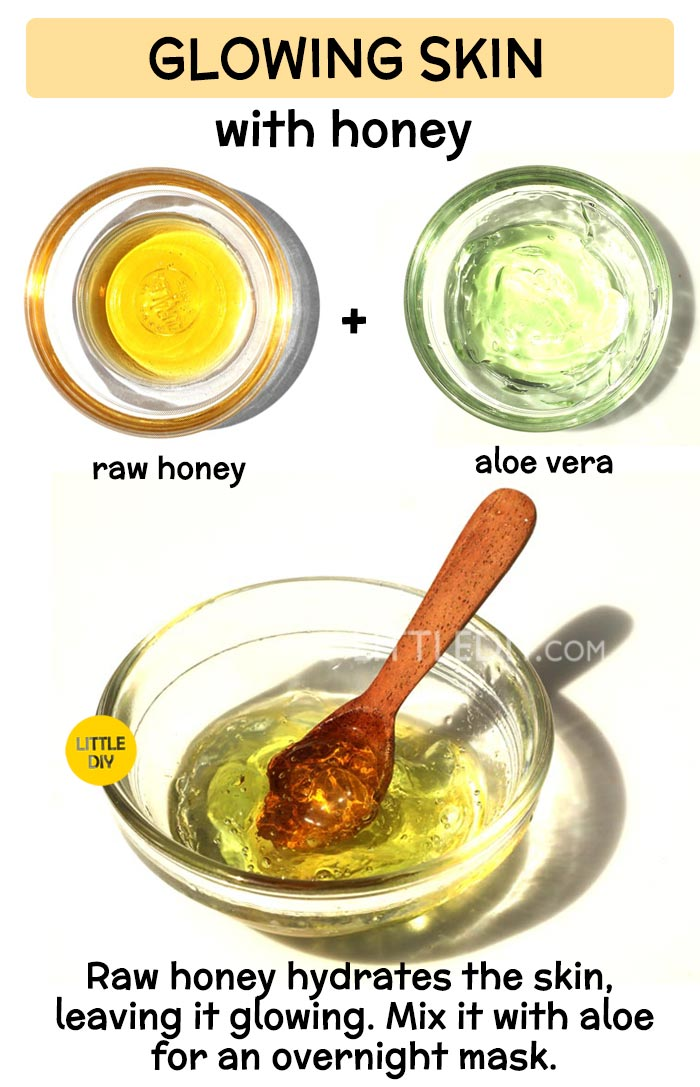 Honey Sleeping mask for clear skin -