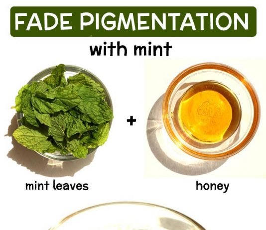 MINT LEAVES FOR PIGMENTATION