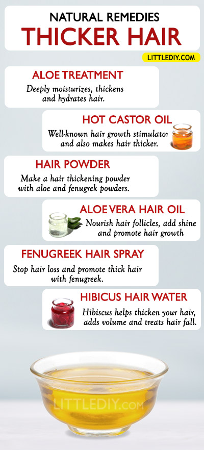 HOME REMEDIES TO GROW THICKER HAIR