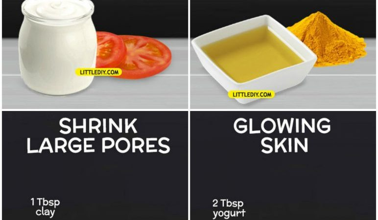 2 INGREDIENT AMAZING FACE MASKS for all skin type