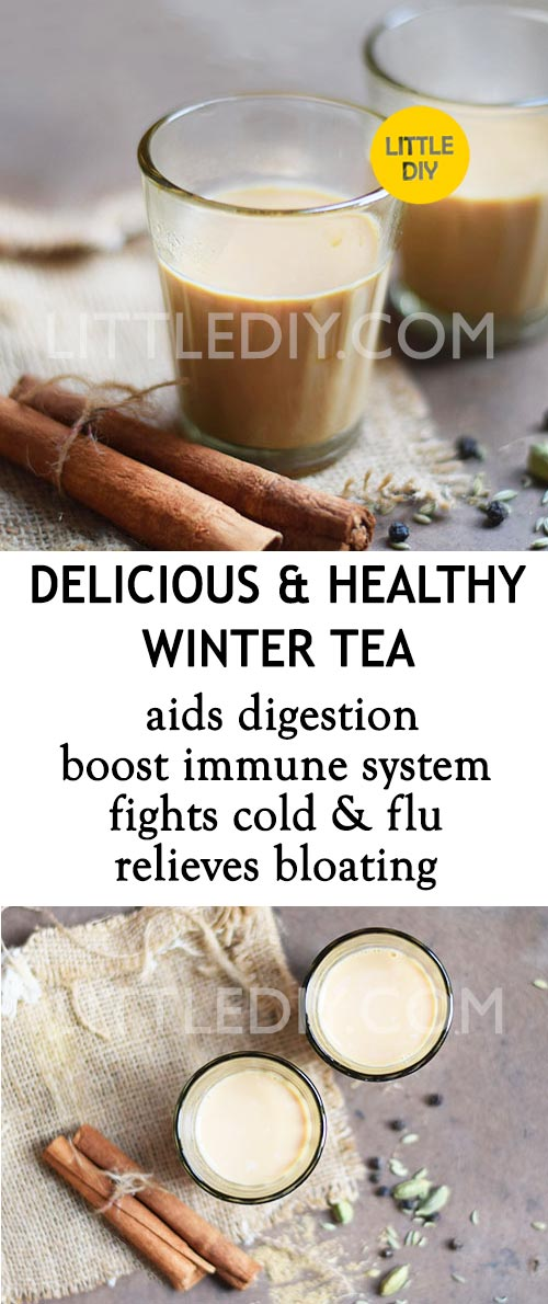 HEALTHY WINTER TEA RECIPE