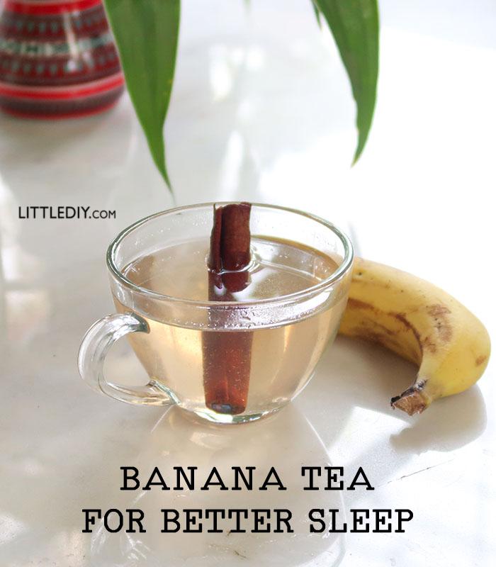 BANANA TEA FOR DEEP SLEEP