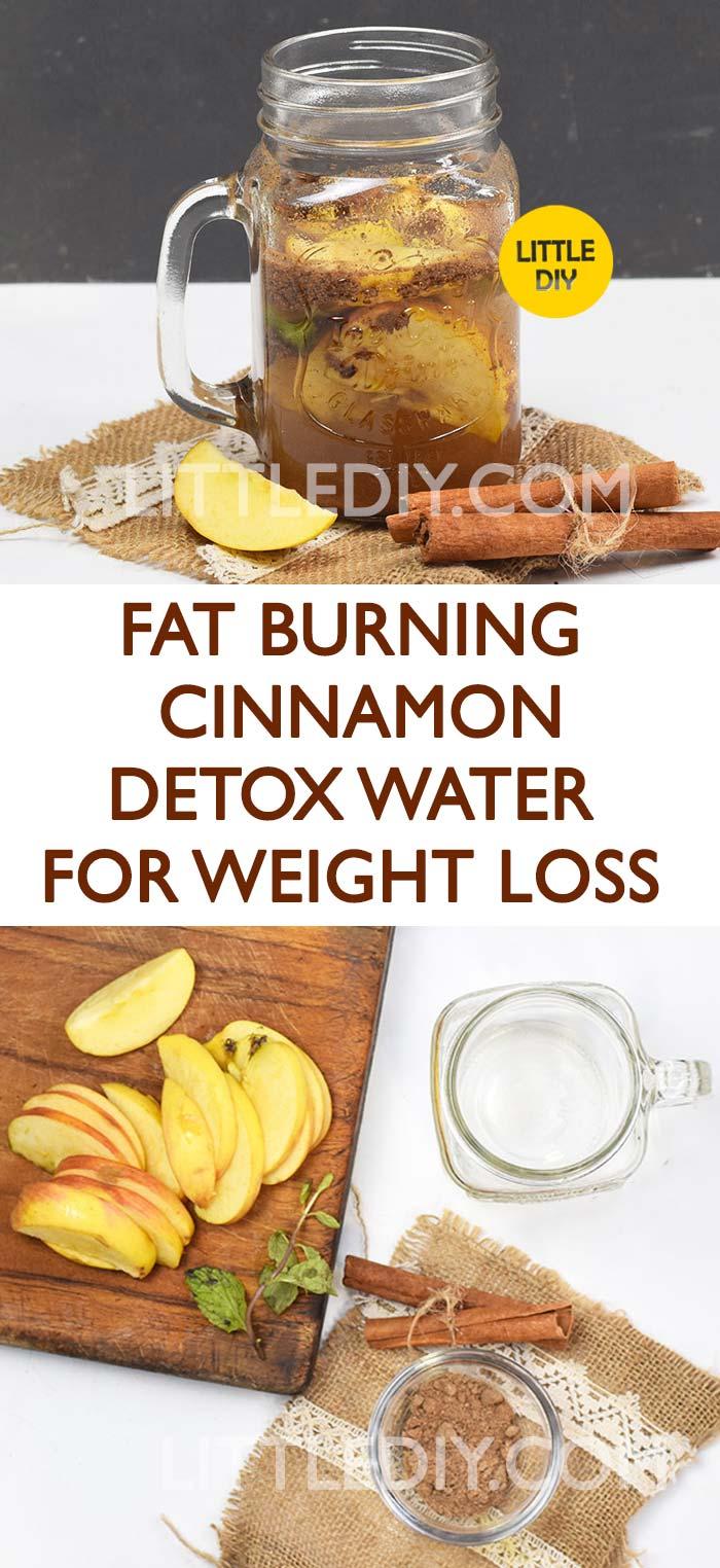 Photo of FAT-BURNING CINNAMON DETOX WATER RECIPE