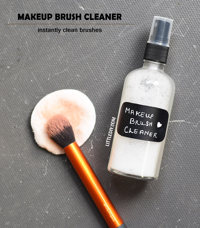 Photo of COCONUT OIL INSTANT MAKEUP BRUSH CLEANER