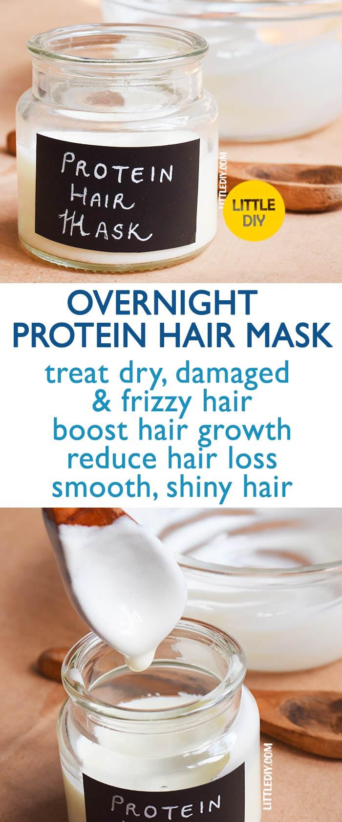 OVERNIGHT COCONUT MILK PROTEIN HAIR MASK