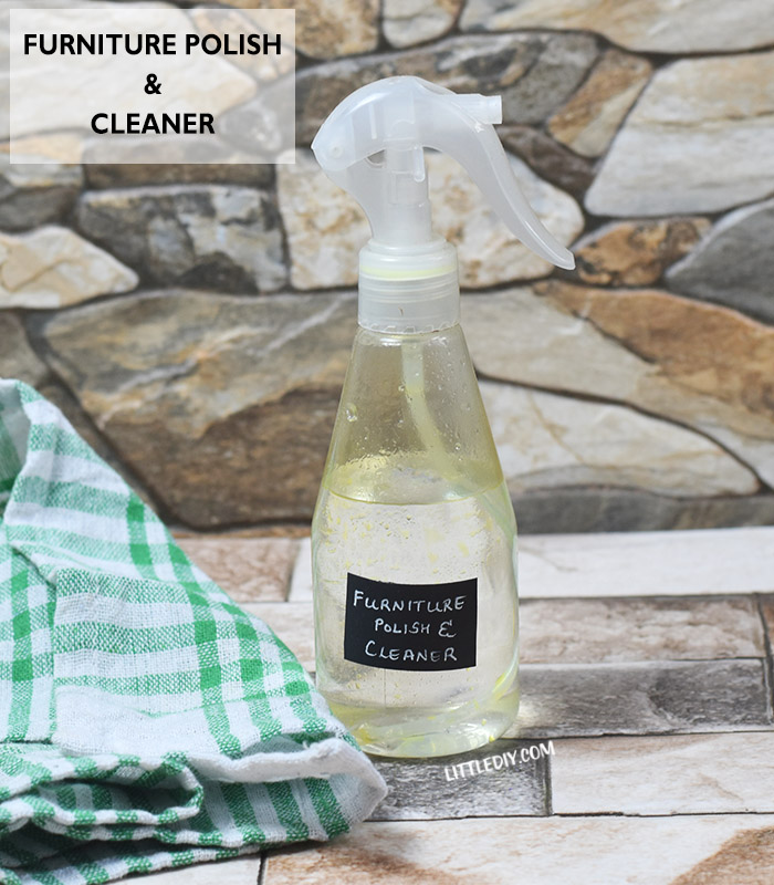2 IN 1 NATURAL FURNITURE POLISH AND CLEANER