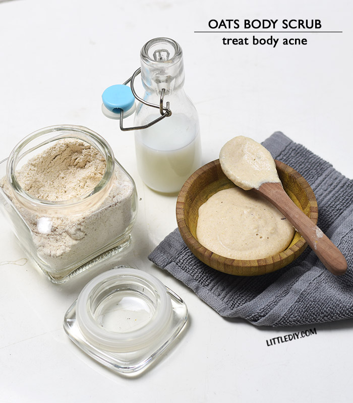 Photo of OATS BODY SCRUB FOR BODY ACNE