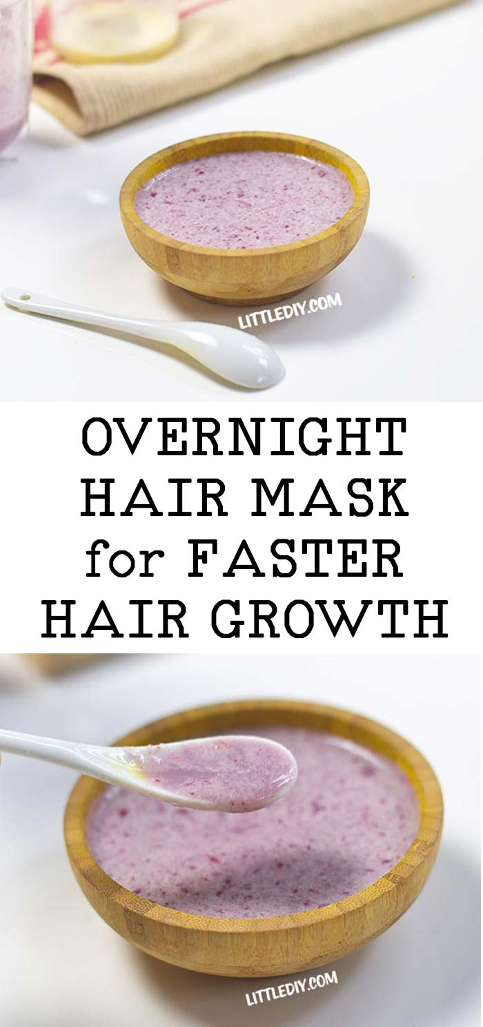 Photo of OVERNIGHT HAIR GROWTH MASK with HIBISCUS