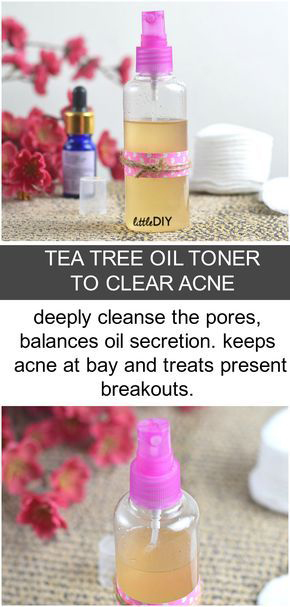 Photo of TEA TREE OIL TONER TO CLEAR ACNE