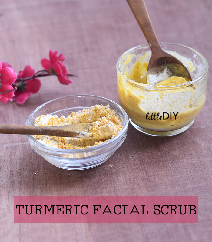 Photo of TURMERIC FACIAL SCRUB
