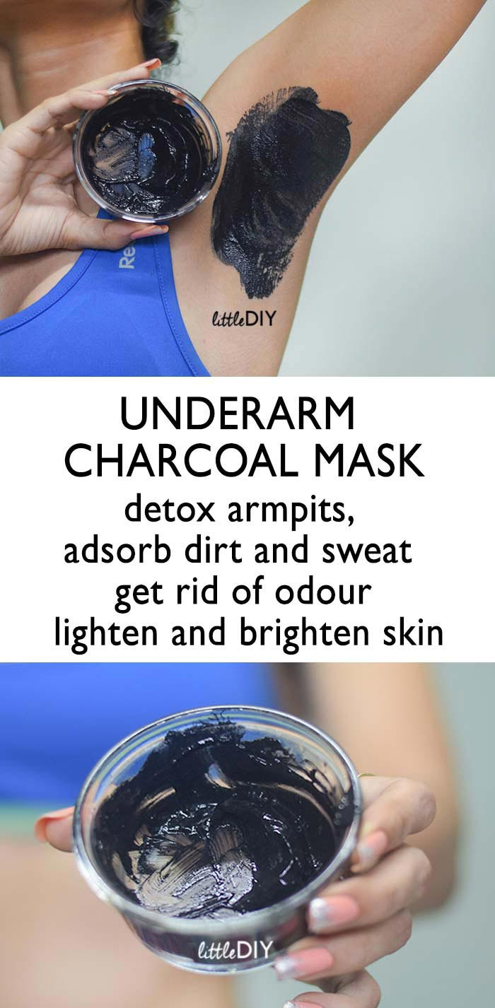 Photo of UNDERARM BRIGHTENING AND WHITENING CHARCOAL MASK