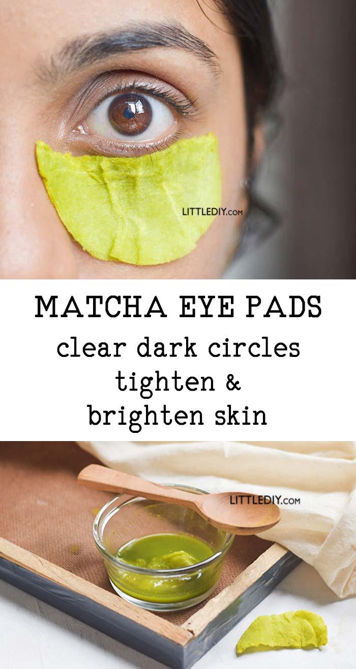 Matcha Under Eye Pads For Dark Circles