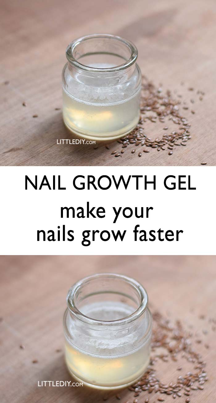 GROW YOUR NAILS FASTER WITH NAIL GEL
