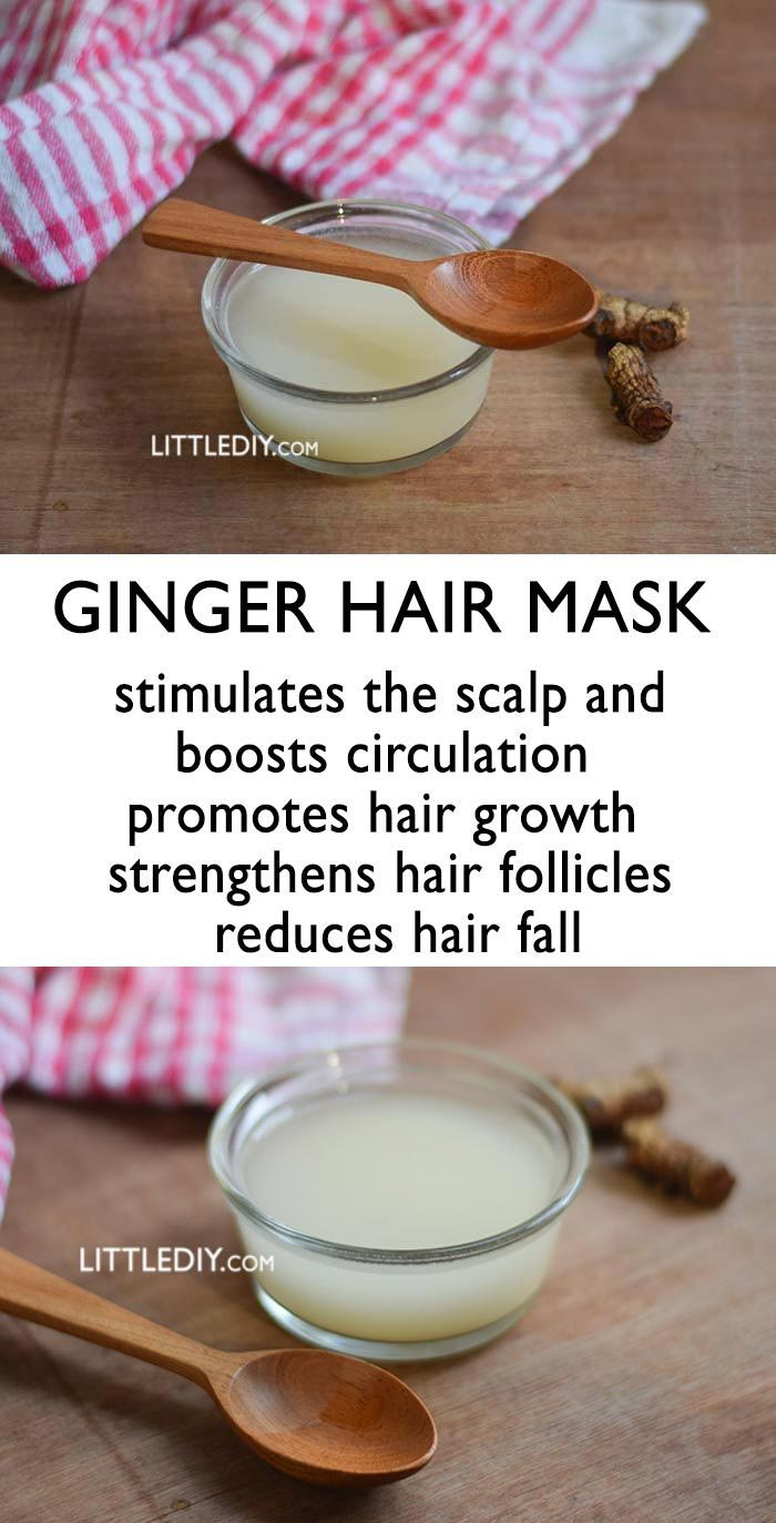 Photo of GINGER HAIR MASK FOR HAIR GROWTH