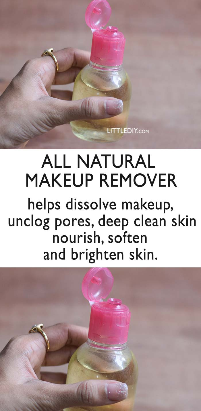 Photo of DIY All Natural Makeup Remover for Clear Skin