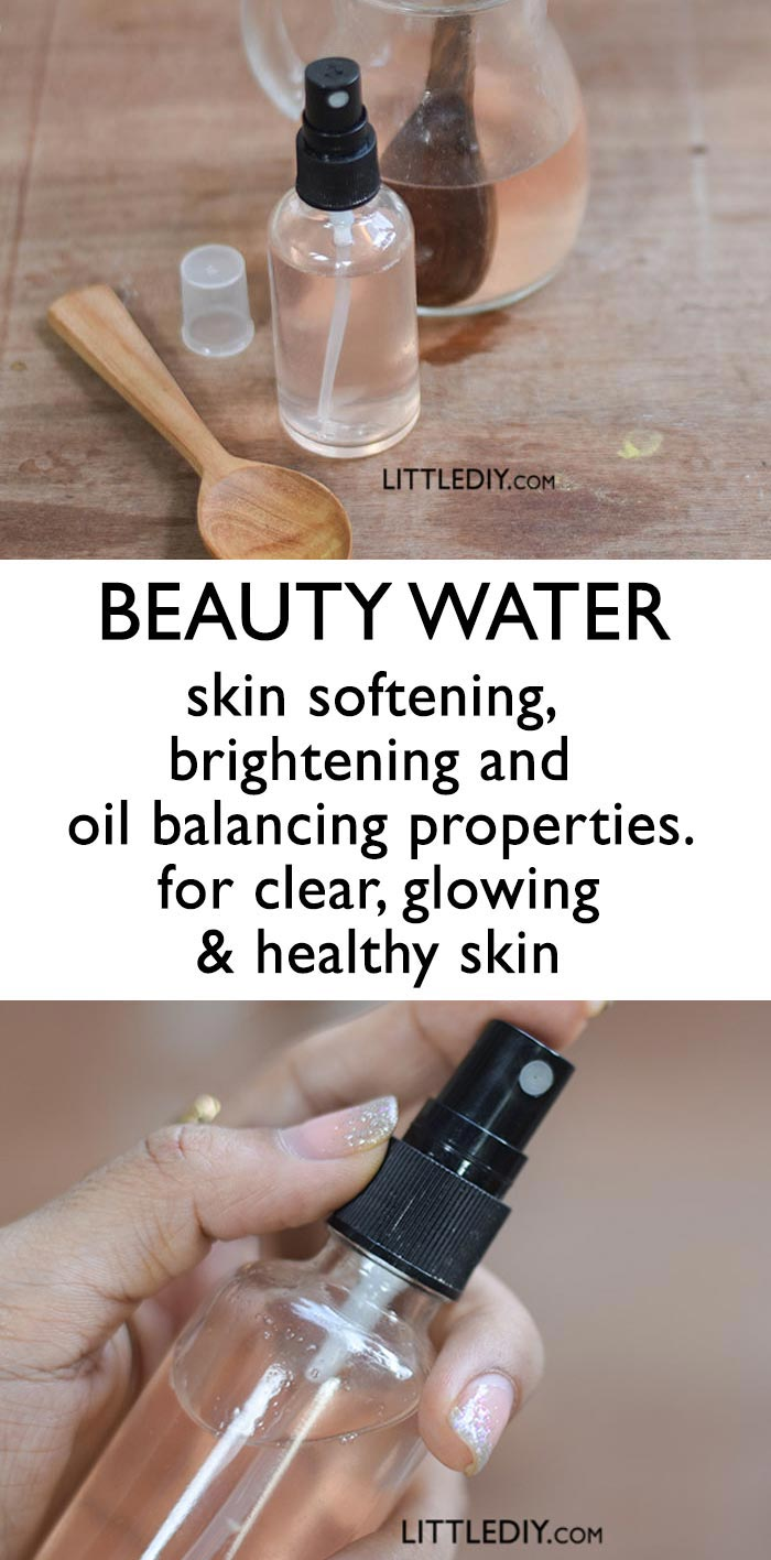 Photo of BEAUTY WATER for clear, glowing skin