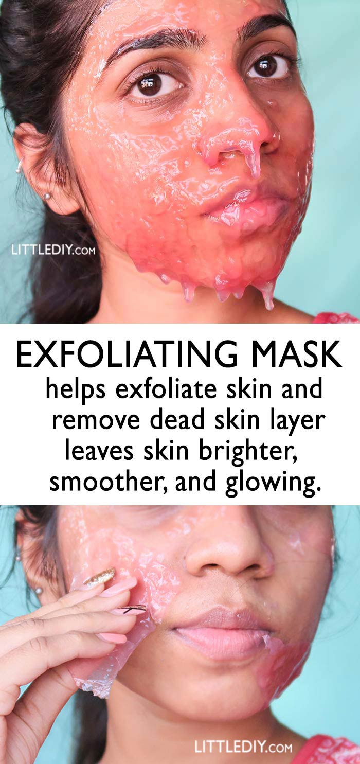 EXFOLIATING MASK for smoother, softer skin