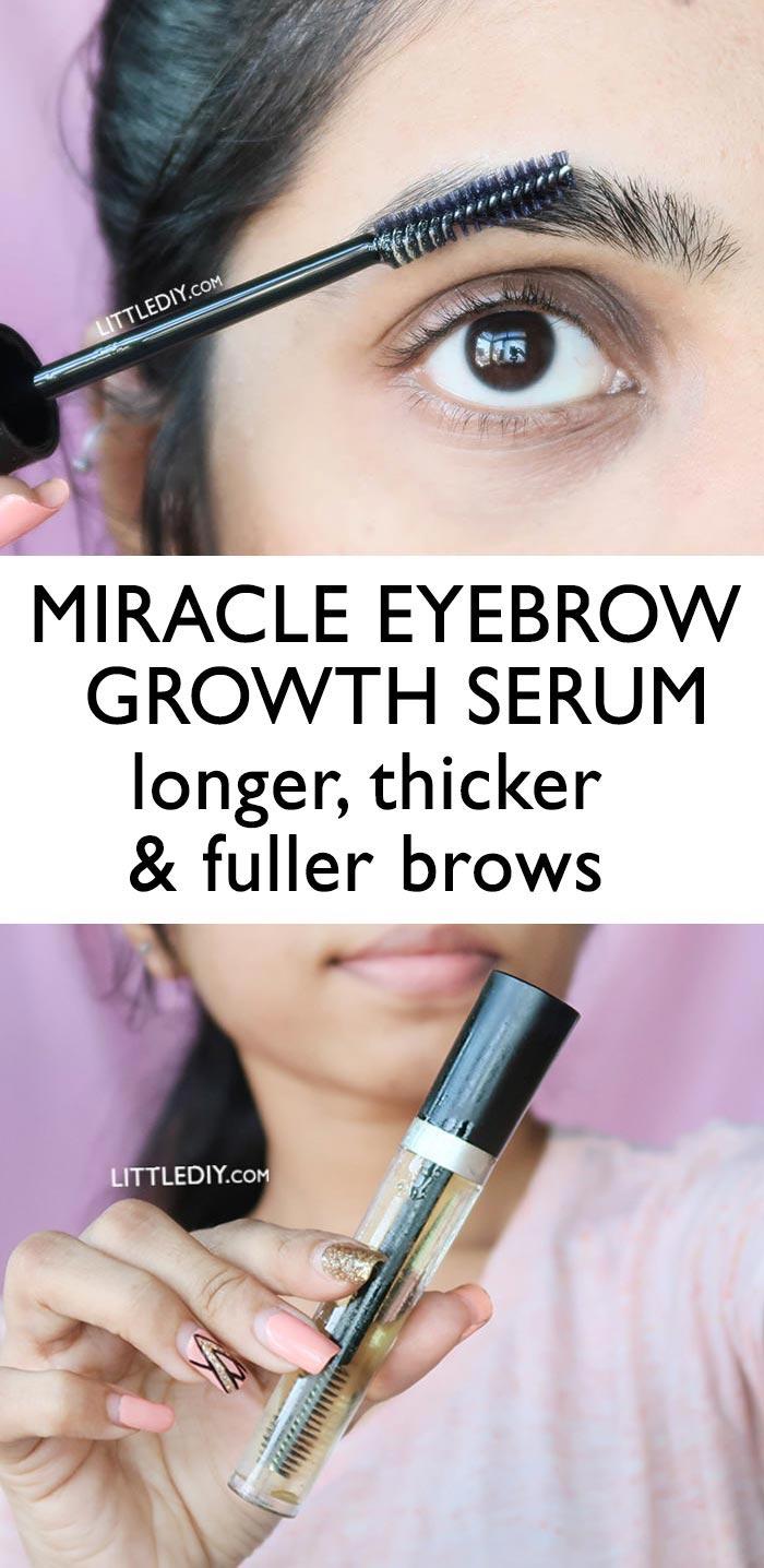 MIRACLE EYEBROW GROWTH SERUM
