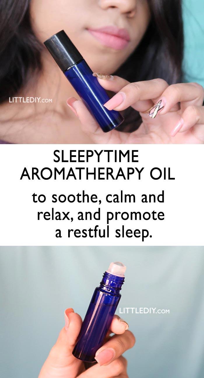 SLEEPYTIME AROMATHERAPY PERFUME OIL
