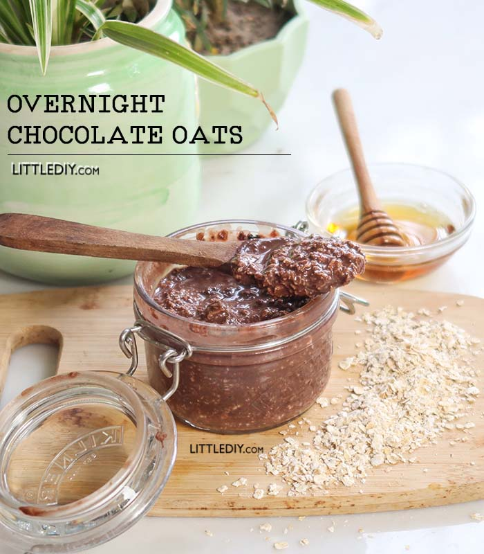 OVERNIGHT CHOCOLATE OATS