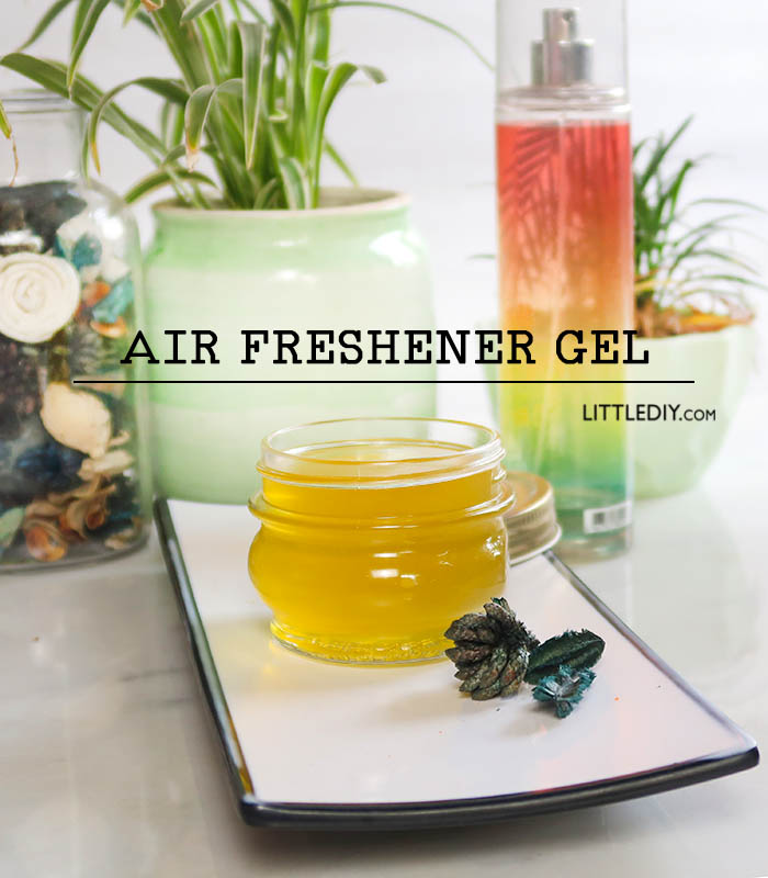 HOMEMADE AIR FRESHENER GEL RECIPE