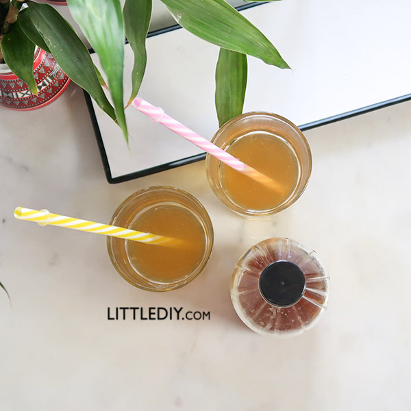 APPLE CIDER VINEGAR ICED TEA