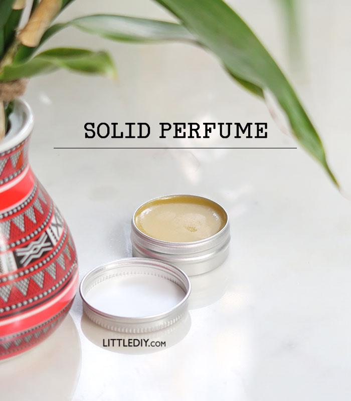 SOLID PERFUME DIY
