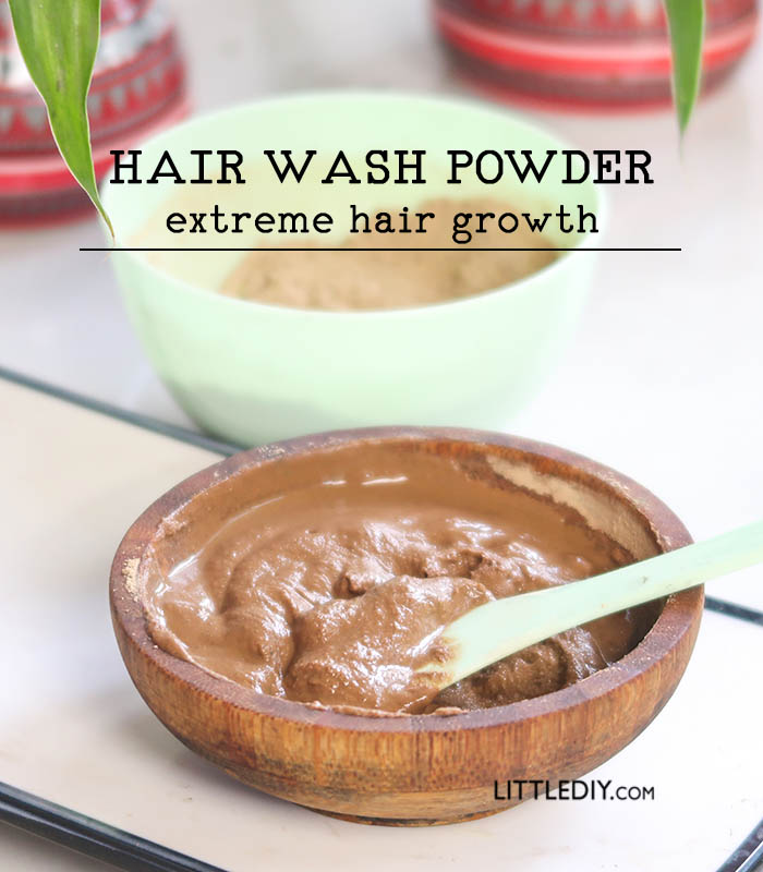 HERBAL HAIR WASH POWDER FOR EXTREME HAIR GROWTH