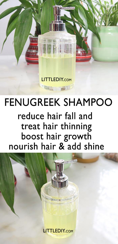 FENUGREEK FASTER HAIR GROWTH SHAMPOO