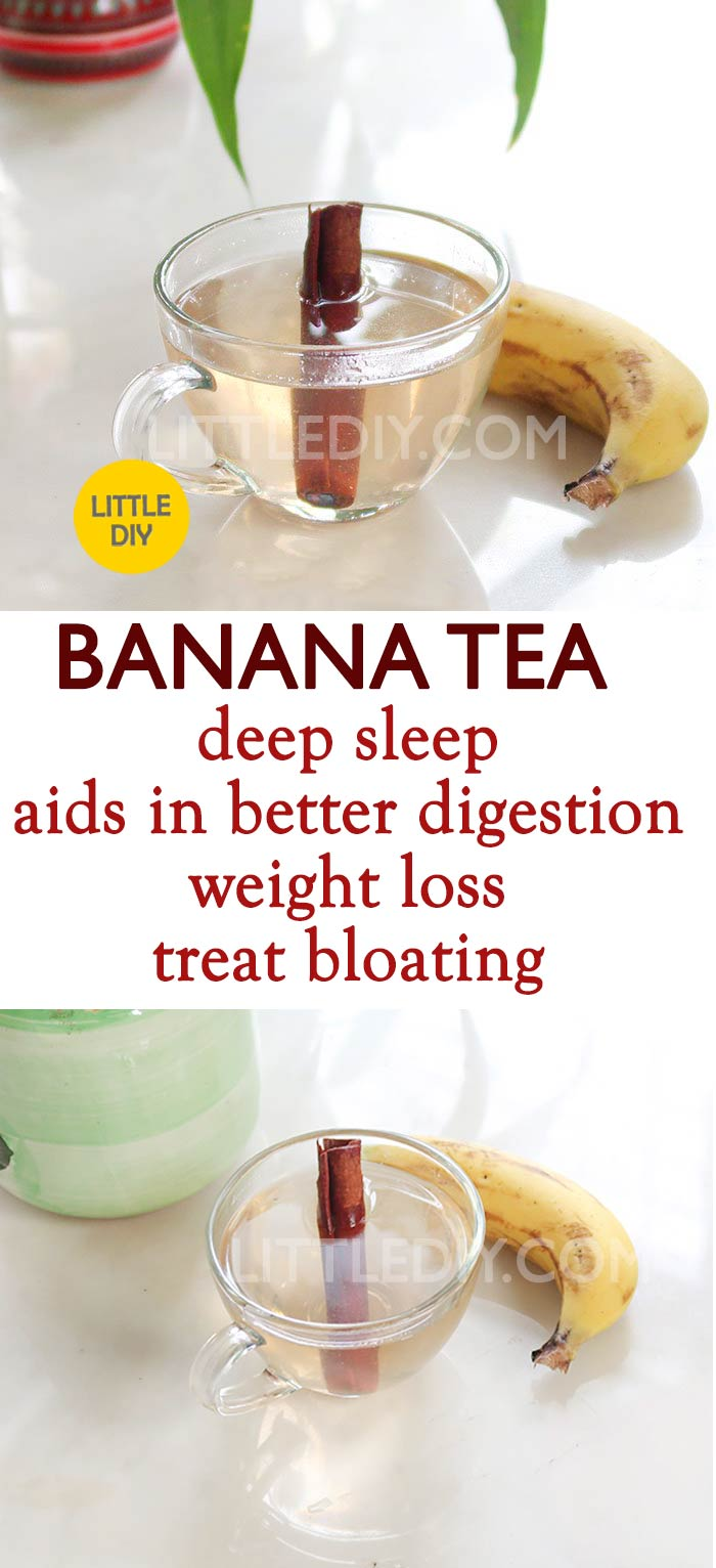 BANANA TEA FOR DEEP SLEEP