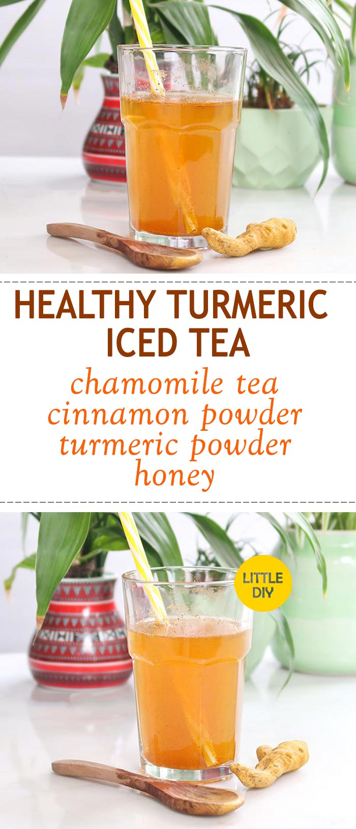 HEALTHY TURMERIC ICED TEA