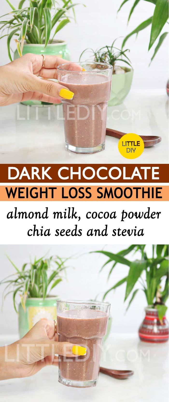 DARK CHOCOLATE WEIGHT LOSS