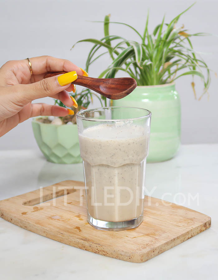 Photo of LOW CARB CHIA WEIGHT LOSS SMOOTHIE – KETO RECIPE