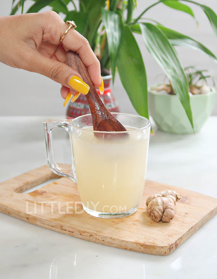 GINGER TONIC FOR COLD